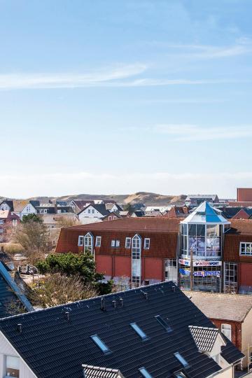 tiny appartement westerland  Sylt - ausblick vom balkon umgebung